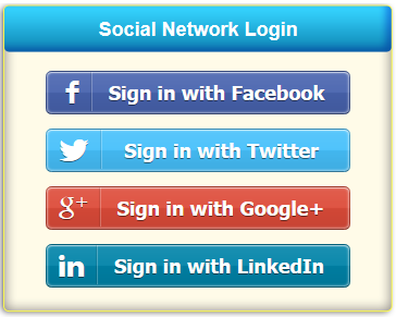 Hotspot access with Facebook and other Social Network