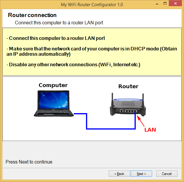 how to connect my computer to wifi router